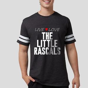 Live Love The Little Rascals Mens Football Shirt
