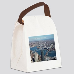 Bridges Canvas Lunch Bag