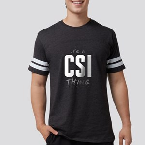 It's a CSI Thing Mens Football Shirt