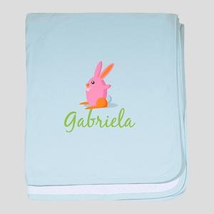 Easter Bunny Gabriela baby blanket