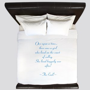 Once upon a time... King Duvet