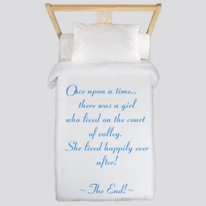 Once upon a time... Twin Duvet