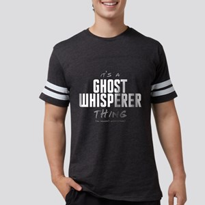 It's a Ghost Whisperer Thing Mens Football Shirt