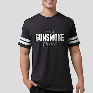 It's a Gunsmoke Thing Mens Football Shirt