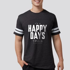 It's a Happy Days Thing Mens Football Shirt