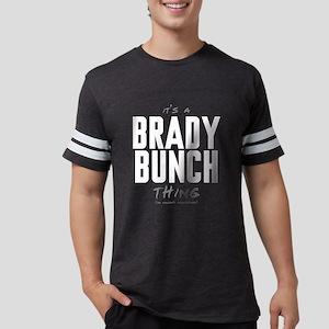It's a Brady Bunch Thing Mens Football Shirt