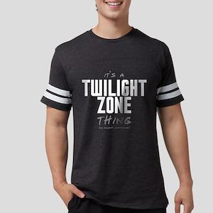 It's a Twilight Zone Thing Mens Football Shirt