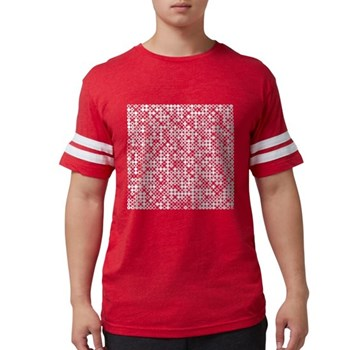 Graphical Pi Visualization Mens Football Shirt