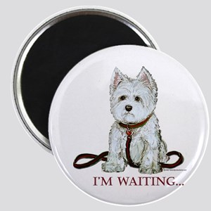 Westie Walks Magnet