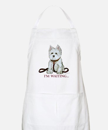 Westie Walks BBQ Apron