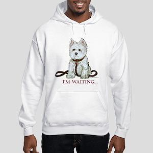 Westie Walks Hooded Sweatshirt