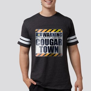 Warning: Cougar Town Mens Football Shirt