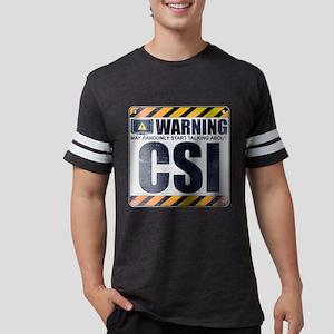 Warning: CSI Mens Football Shirt