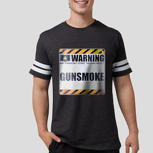 Warning: Gunsmoke Mens Football Shirt