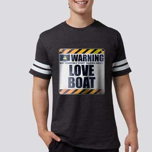 Warning: Love Boat Mens Football Shirt