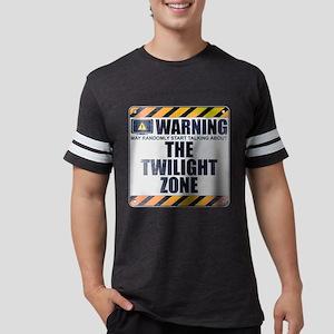 Warning: The Twilight Zone Mens Football Shirt
