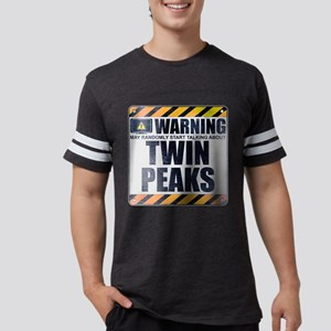Warning: Twin Peaks Mens Football Shirt