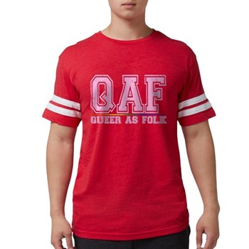 QAF Queer as Folk Mens Football Shirt