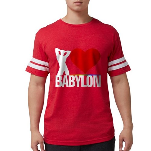 I Heart Babylon Mens Football Shirt