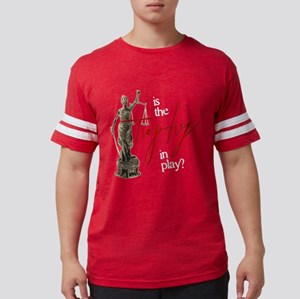 Is the Trophy In Play? Mens Football Shirt