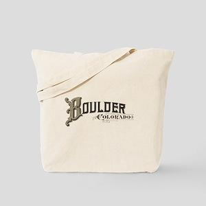 Boulder Colorado Tote Bag