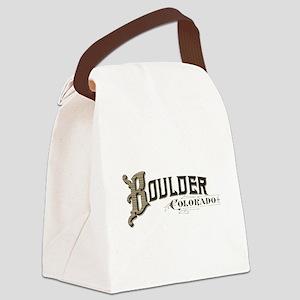 Boulder Colorado Canvas Lunch Bag