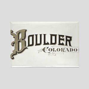 Boulder Colorado Rectangle Magnet