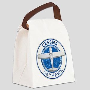 Aviation Cessna Skyhawk Canvas Lunch Bag