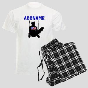SUPER GYMNAST Men's Light Pajamas
