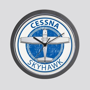 Aviation Cessna Skyhawk Wall Clock