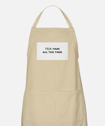 TEA TIME ALL THE TIME Apron