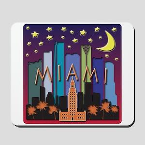 Miami Skyline Mega Color Mousepad