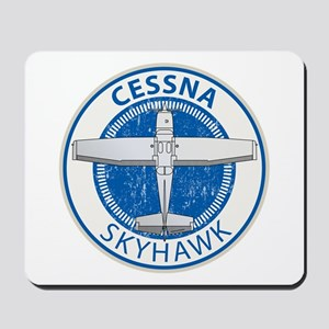 Aviation Cessna Skyhawk Mousepad
