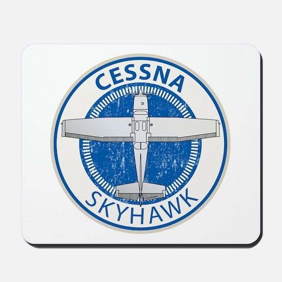 Aviation Cessna Skyhawk Mousepad