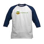Kids Baseball Jersey with AArk logo