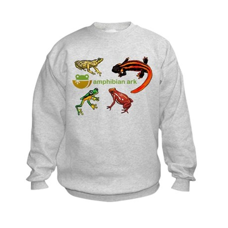 Kids colorful amphibian sweatshirt