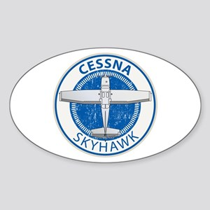 Aviation Cessna Skyhawk Sticker