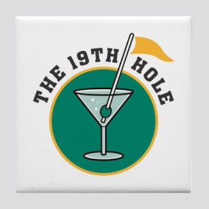 The 19th Hole Tile Coaster