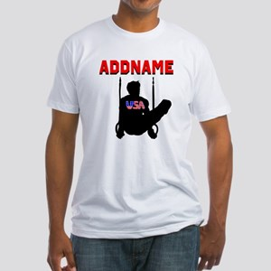AMERICAN GYMNAST Fitted T-Shirt
