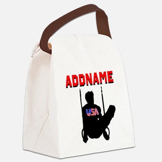 AMERICAN GYMNAST Canvas Lunch Bag