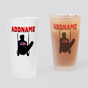 AMERICAN GYMNAST Drinking Glass