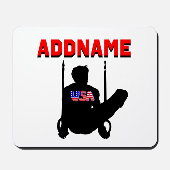 AMERICAN GYMNAST Mousepad