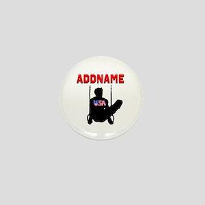 AMERICAN GYMNAST Mini Button