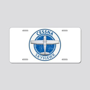 Aviation Cessna Skyhawk Aluminum License Plate