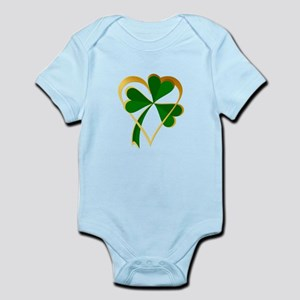 My Heart with St Patricks Body Suit