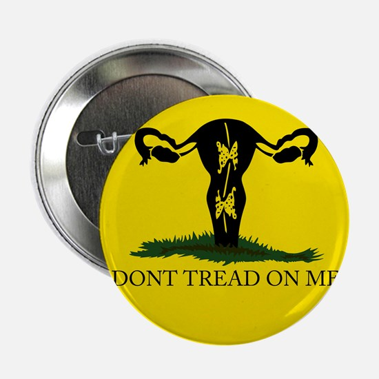 """Dont tread on me 2.25"""" Button"""