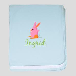 Easter Bunny Ingrid baby blanket