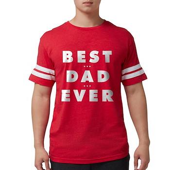 Best Dad Ever Mens Football Shirt