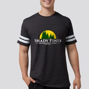 Shady Pines Logo Mens Football Shirt