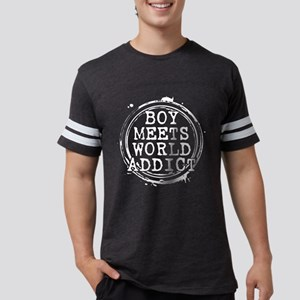 Boy Meets World Addict Stamp Mens Football Shirt